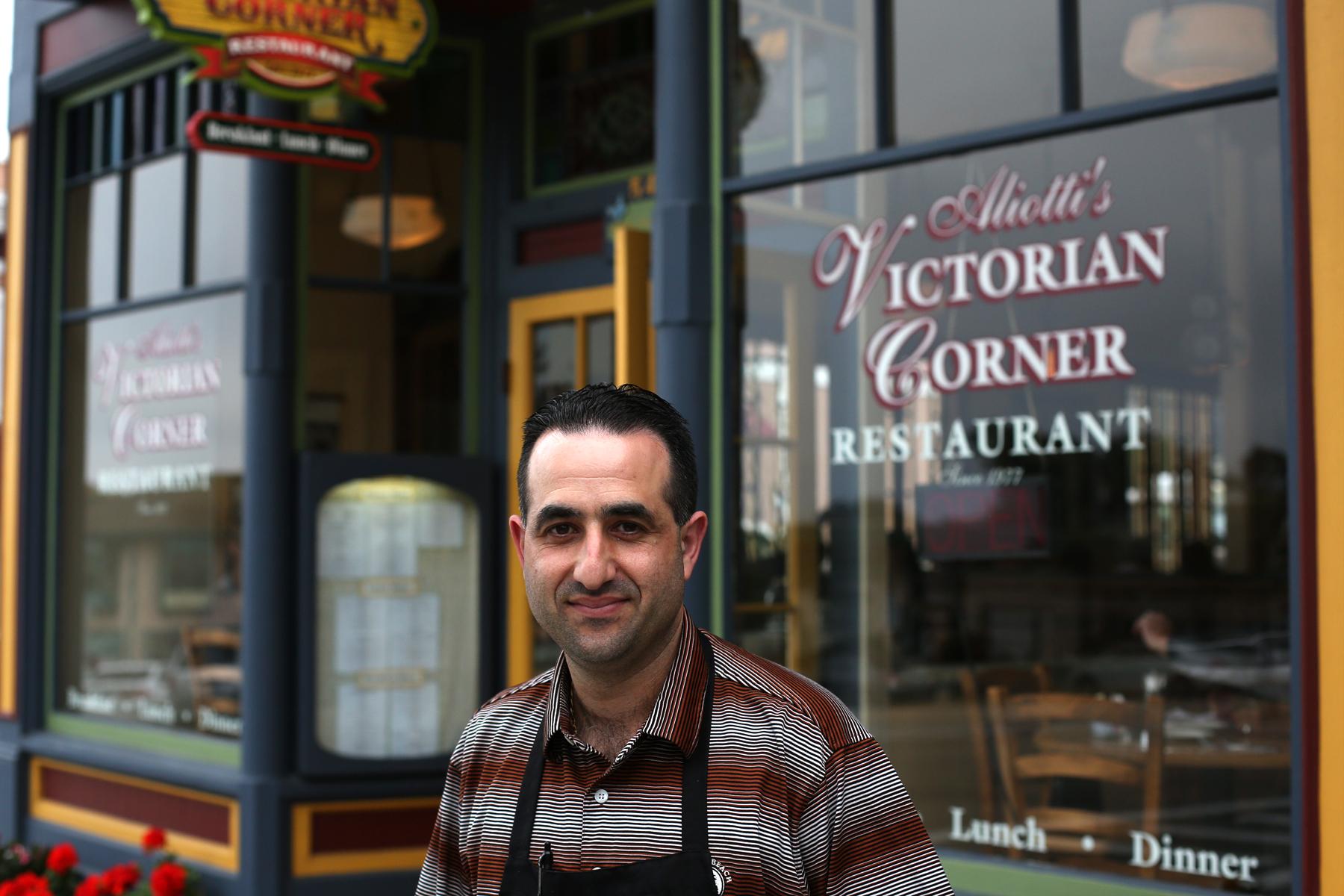 Aliotti's Victorian TCorner Restaurant Indigo Payments Customer